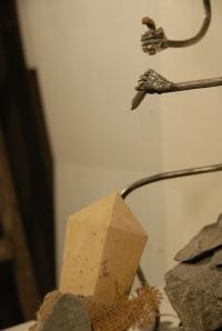 Le sculpteur (détail)