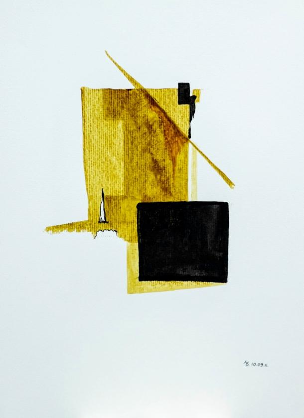 encres s/Ingres 24x32 cm. 10/09/2011.