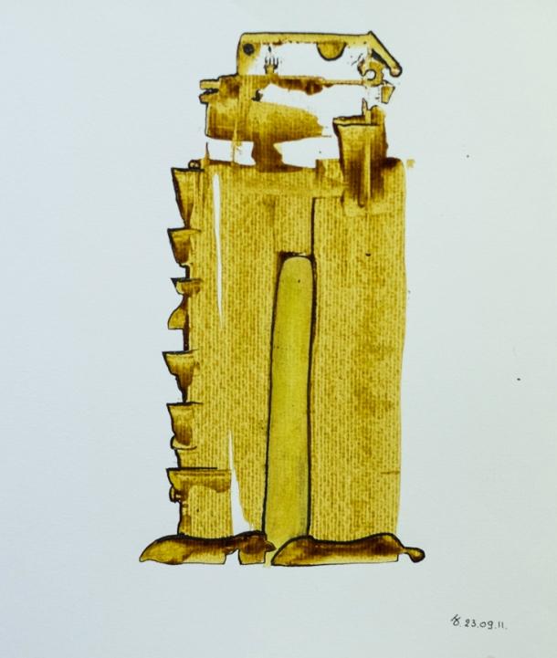 encre s/Ingres 24x32. 23/09/2011.