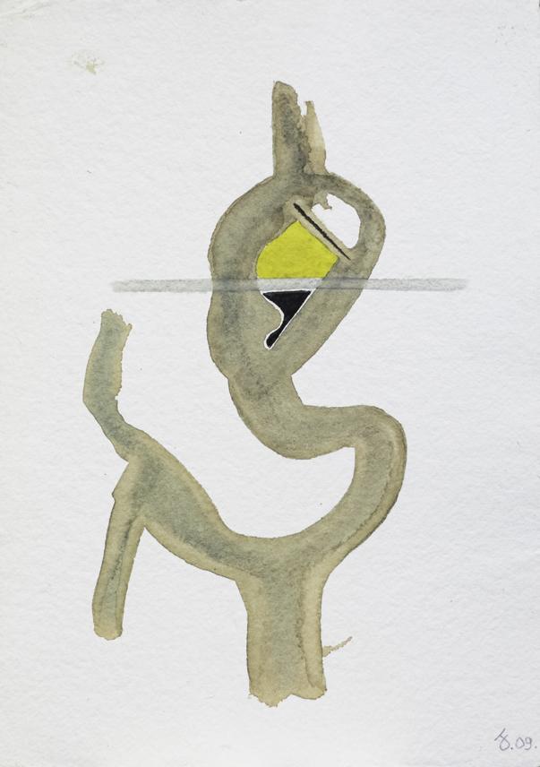 Aquarelle s/Arches 300g. 21x30 cm. 2009.