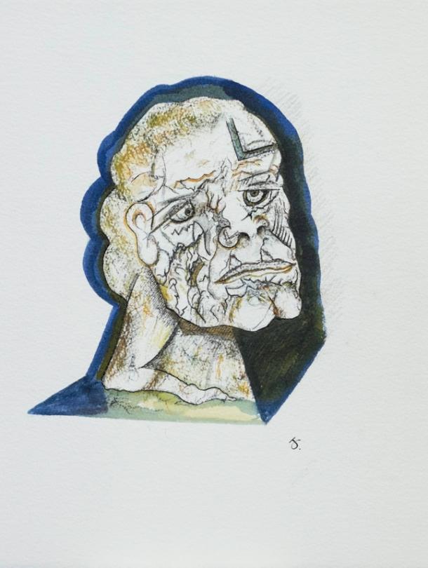 aquarelle 26x33 cm. 2015.