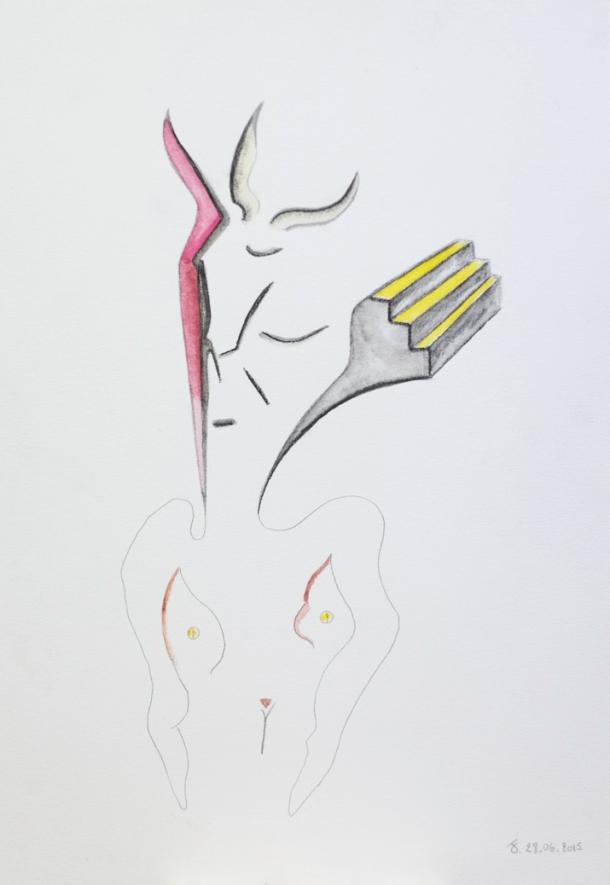 aquarelle. 26x37 cm. 28/06/2015.