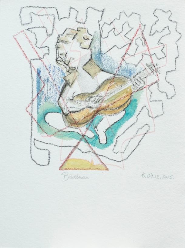 aquarelle. 25x33 cm. 04/12/2015.