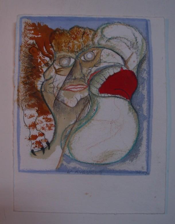 aquarelle s/papier 500 g. 25x33 cm. 24/02/2016.