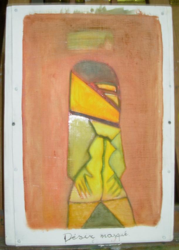 huile s/carton enduit monté sur bois.  25x36 cm. 05/02/2016.