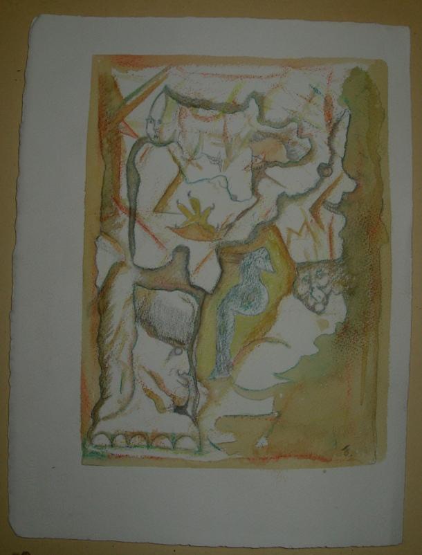 Aquarelle et encres s/arches 300 g. 28,5x38,5 cm. 13.03.2016.