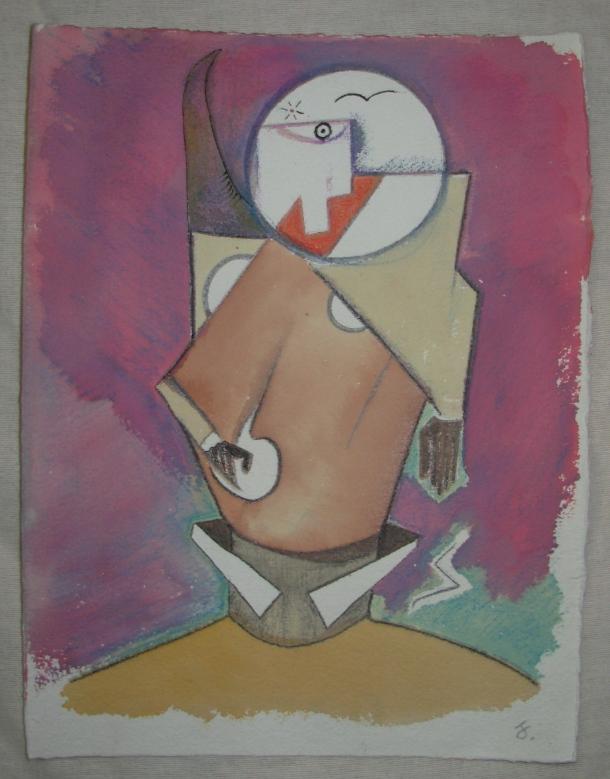 aquarelle et encre s/papier. 25 x 32,5 cm. mars 2016.