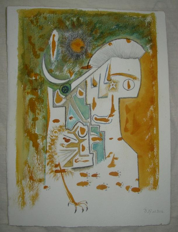 aquarelle et encre s/arches 300g. 28,5 x38,5 cm. 27.03.2016.