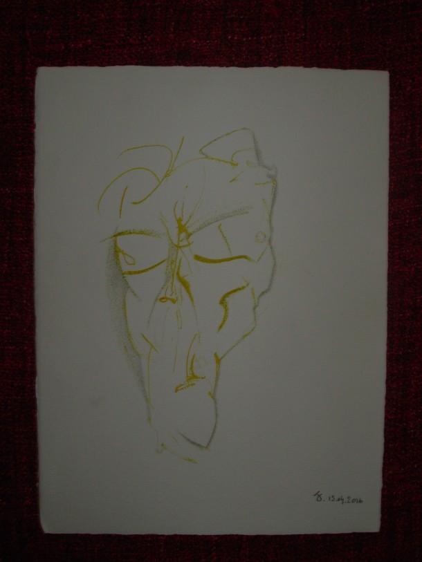 encre et crayon s/arches 300G. 28,5 x 38,5 cm. 15.04.2016.