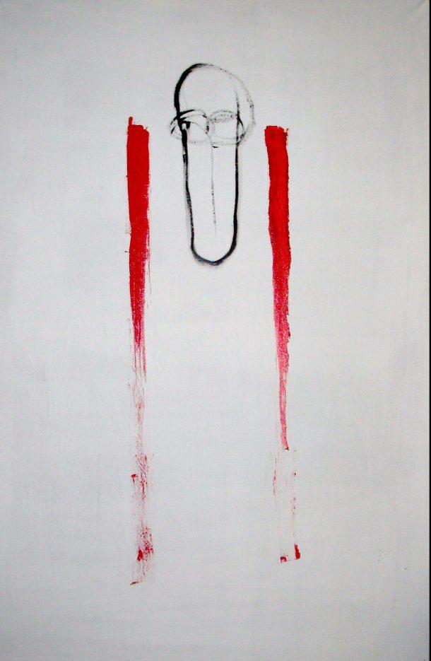 Huile s/toile. 85 x130 cm. 22. 04. 2016.