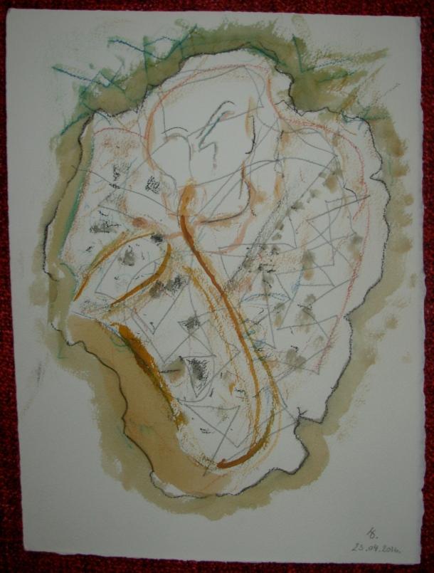 aquarelle et encre s/arches 300g. 28,5 x 38,5 cm. 23. 04. 2016