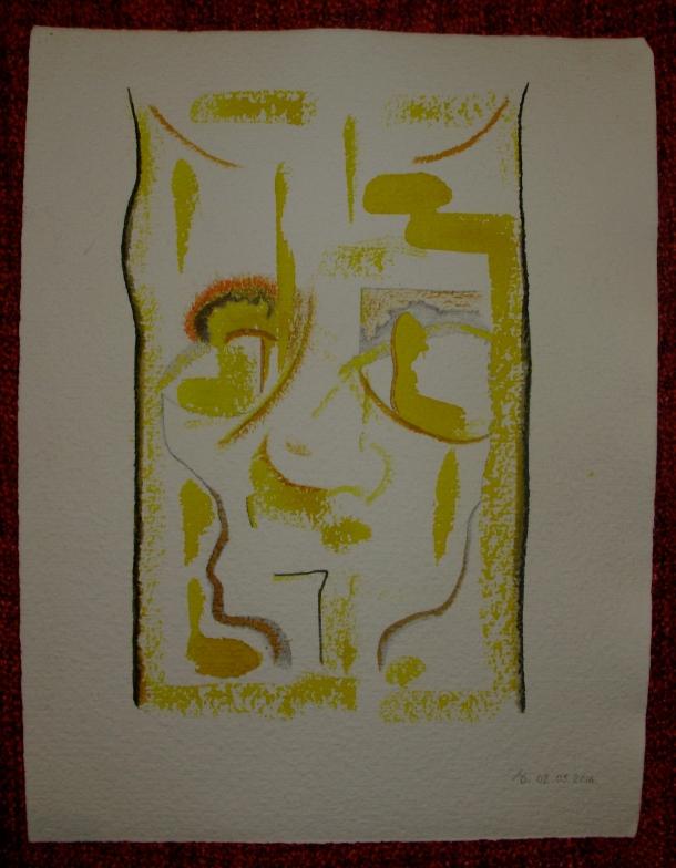 aquarelle et encre s/ Fabriano. 28 x 38 cm. 01 .05. 2016.