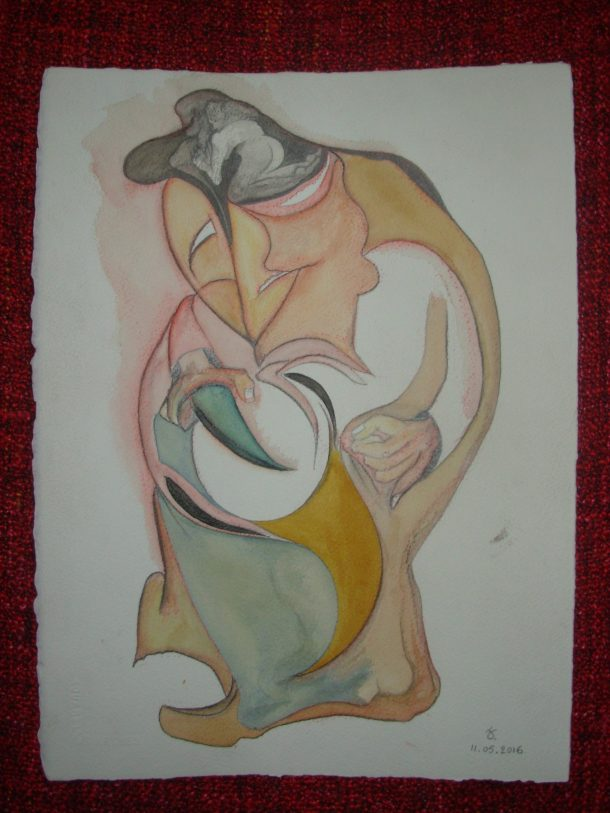 aquarelle et encres s/arches 300g. 28,5 x 38,5 cm. 11. 05. 2016.