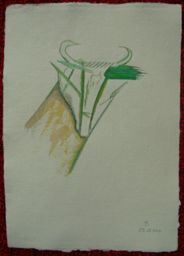 aquarelle et encre s/papier 21 x 30 cm. 29. 05. 2016.