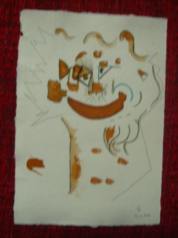 aquarelle et encre s/papier 21 x 30 cm. 31. 05. 2016.