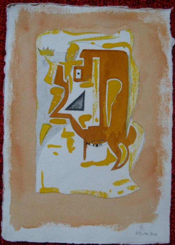 aquarelle et encre s/papier 21 x 30 cm. 03. 06. 2016.