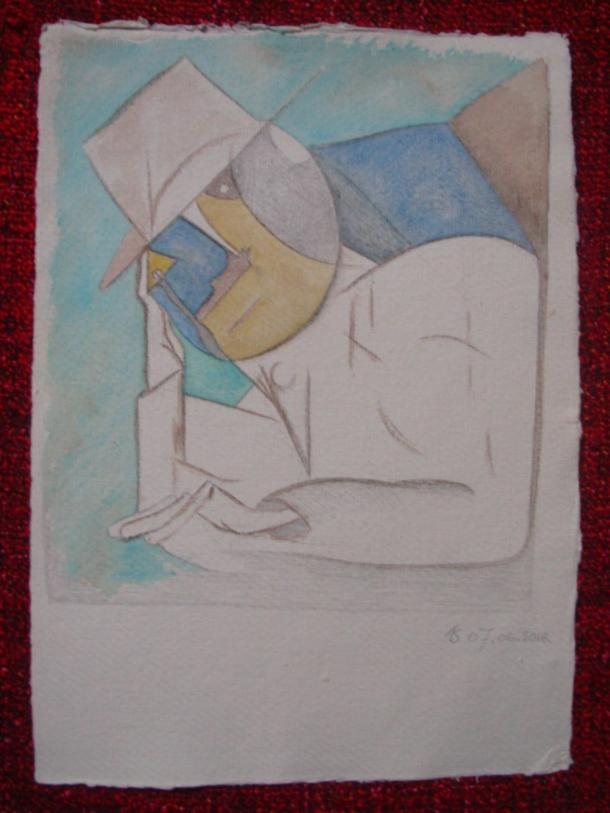 aquarelle s/papier 21,5 x 30 cm. 07. 06. 2016.