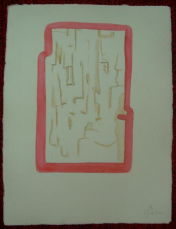 aquarelle et encre s/papier 30,5 x 40,5 cm. 17. 06. 2016.