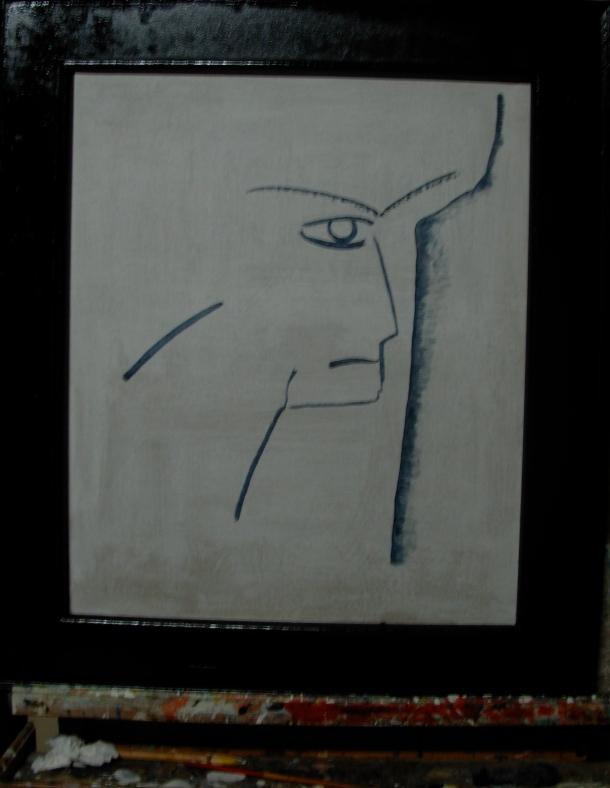 huile s/toile 50 x 60 cm. 06. 07. 2016.