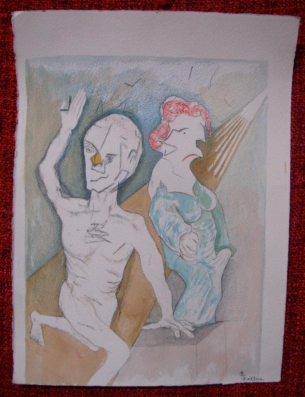 aquarelle s/arches 300 g. 28,5 x 38,5 cm. 17. 07. 2016.