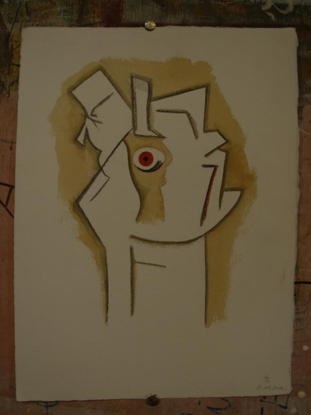 aquarelle et encre s/arches 300g. 28,5 x 38,5 cm. 21. 08. 2016.