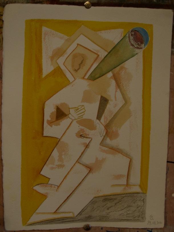 aquarelle et encre s/arches 300g. 28,5 x 38,5 cm. 29. 08. 2016.