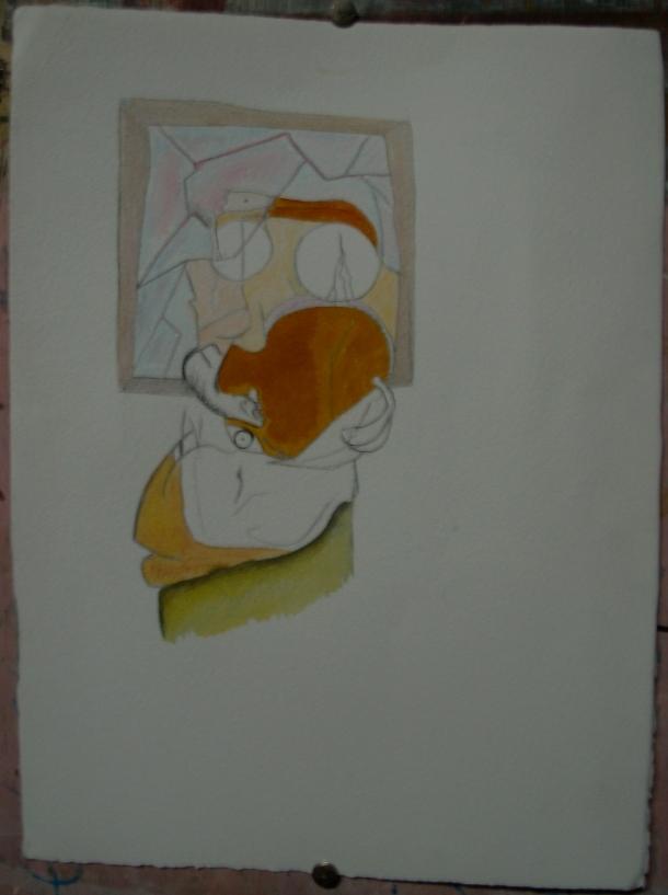 aquarelle et encre s/arches 300g. 28,5 x 38,5 cm. 09. 2016.