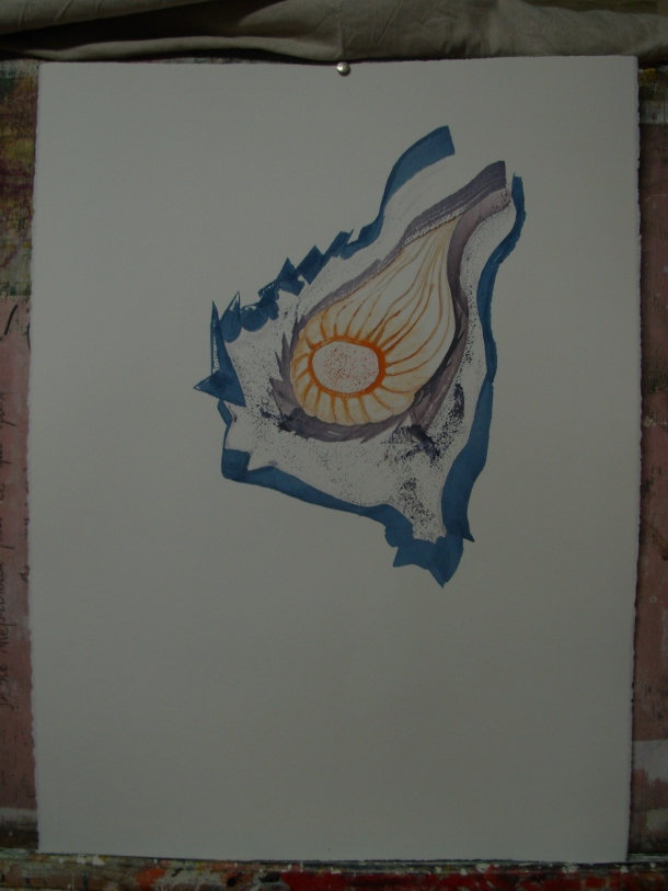 huile s/arches 300g. 56 x 76 cm. 28. 09. 2016.