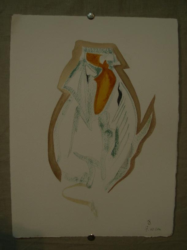 aquarelle et encre s/arches 300g. 28,5 x 38,5 cm. 17. 10 .2016.