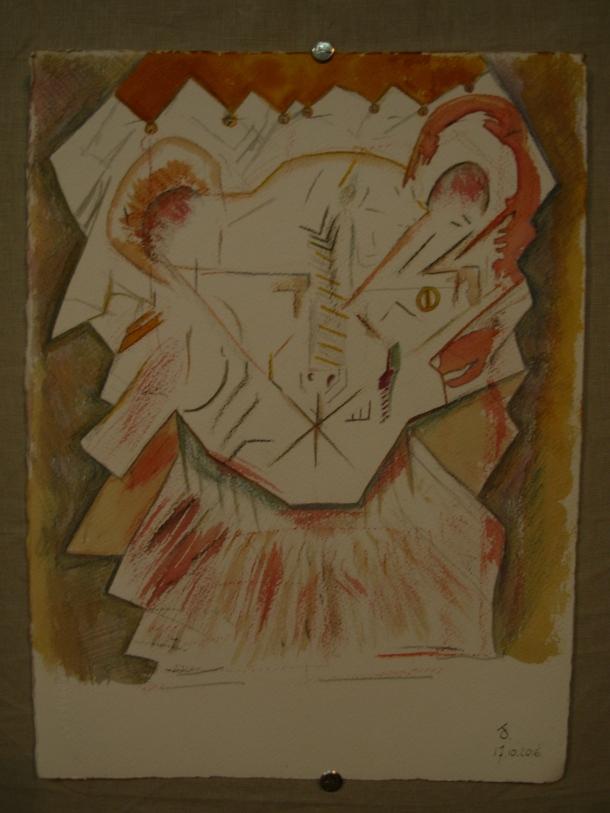 aquarelle et encre s/arches 300 g. 28,5 x 38,5 cm. 17; 10. 2016.