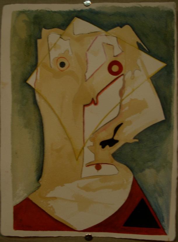 café, encre et aquarelle s/arches 300g. 28,5 x 38,5 cm. 21. 10. 2016.