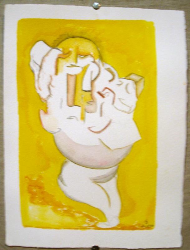 encre et aquarelle s/arches 300g. 28,5 x 38,5 cm. 24. 10. 2016.