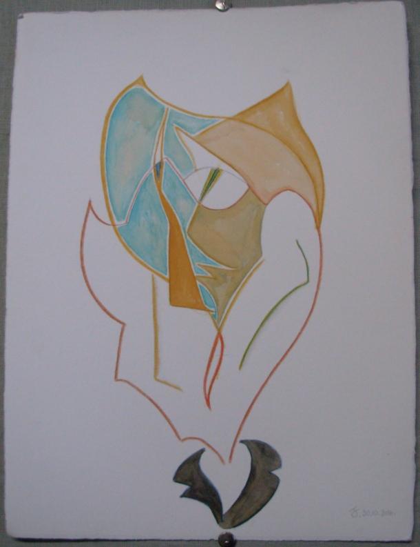 aquarelle et encre s/Fabriano. 28,5 x 38,5 cm. 30. 10. 2016.