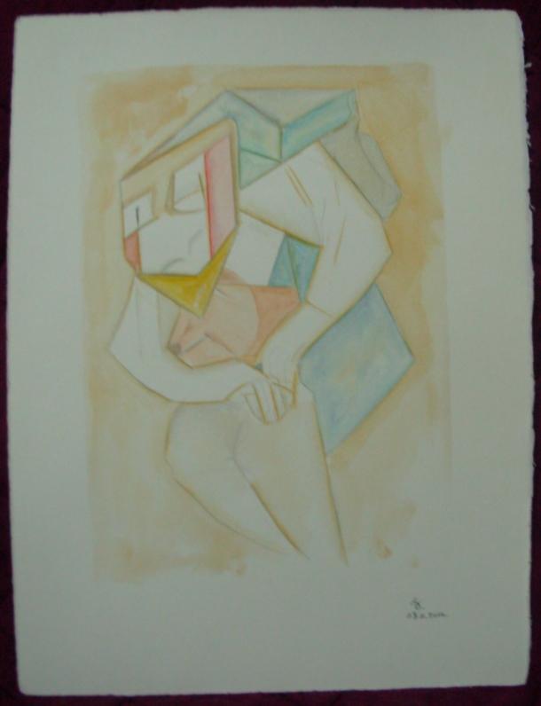 aquarelle s/ Fabriano. 28,5 x 38,5 cm. 08. 11. 2016.