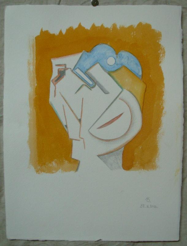 aquarelle et encre s/arches 300g. 28,5 x 38,5 cm. 22. 11. 2016.