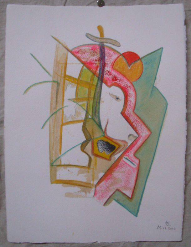 aquarelle et encre s/arches 300g. 28,5 x 38,5 cm. 25. 11. 2016.