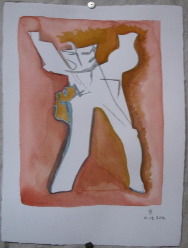 aquarelle et encre s/arches 300g. 28,5 x 38,5 cm. 01. 12. 2016.