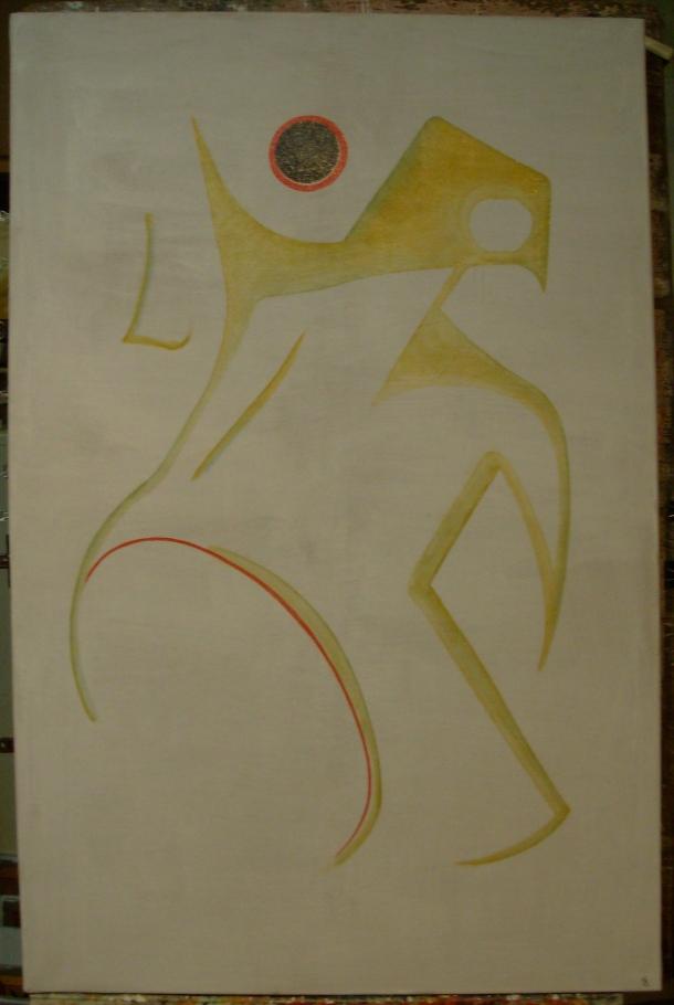 huile s/toile. 75 x 115 cm. 19. 12. 2016.