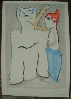 aquarelle et crayon s/Fabriano 300 g. 16 x 23 cm. 25. 12. 2016.