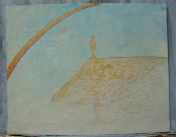 huile s/toile. 37 x 45,5 cm. 29. O1. 2017.