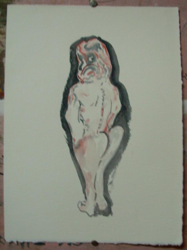 aquarelle s/fabriano 300 g. 28 x 38 cm. 05. 02. 2017.