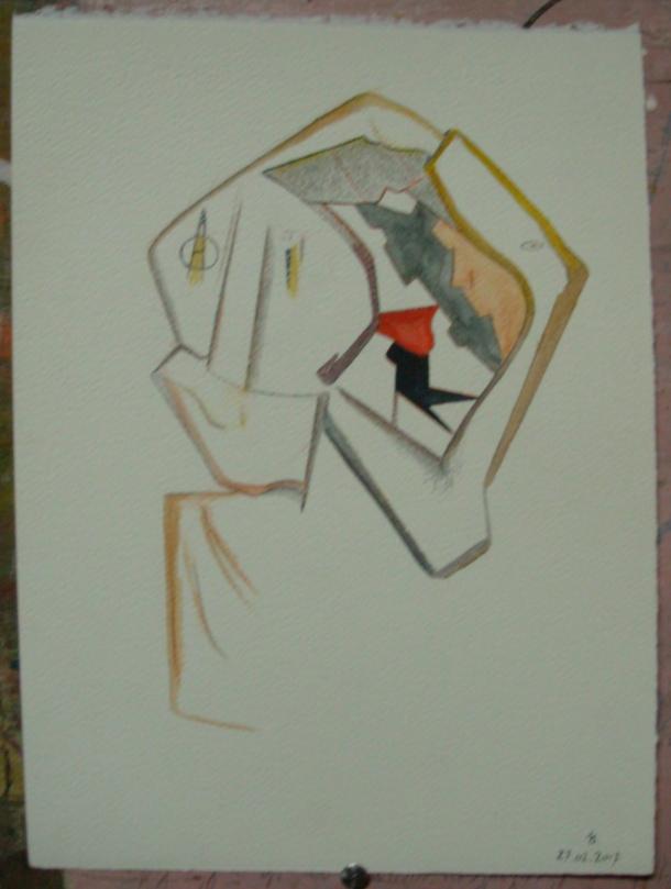 aquarelle s/fabriano 300g. 28 x 38 cm. 27. 02. 2017.